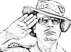 Hand Readings of famous people: Muammar Gaddafi Hand Reading