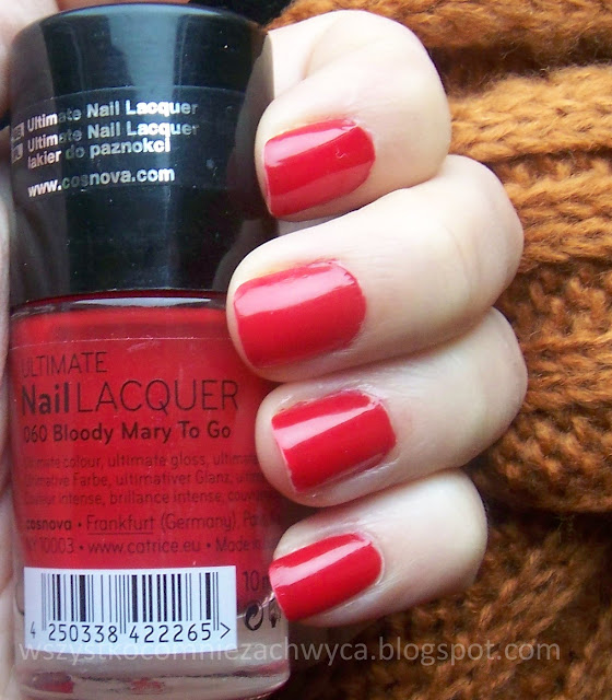 Catrice, Ultimate Nail Lacquer, 060 Bloody Marry To Go