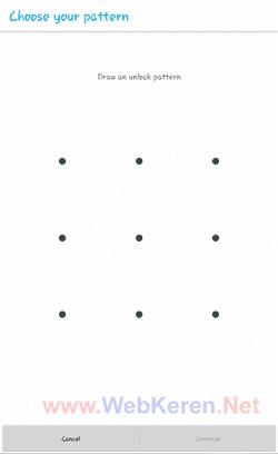 lockscreen kunci layar android pola pattern aman