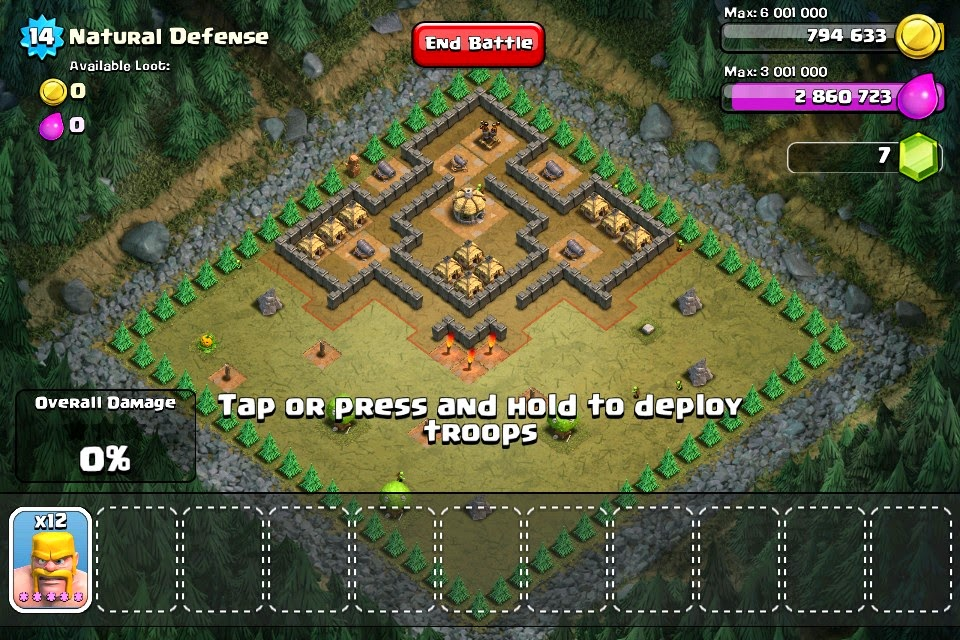 play clash of clans on laptop online