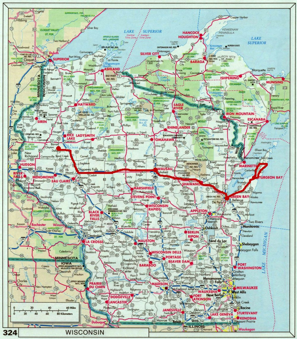 It's just a picture of Slobbery Door County Map Printable