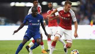 Video Gol Arsenal vs Chelsea 0-3 ICC China 2017