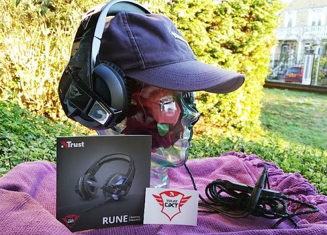 Trust Gxt 410 Rune Bluish Illuminating Gaming Headset