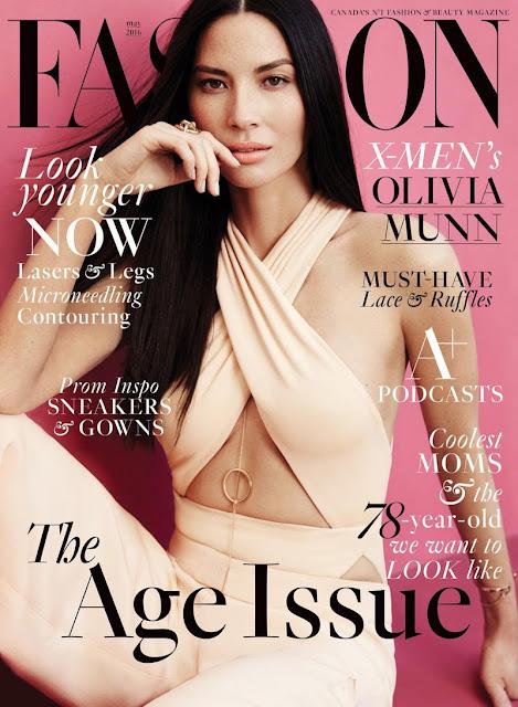 Actress, Model, @ Olivia Munn - Fashion Canada May 2016