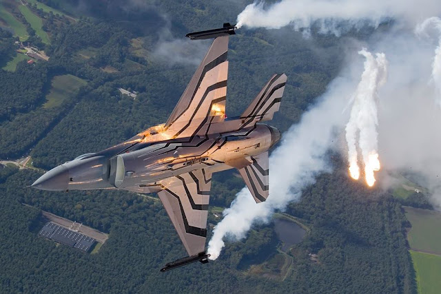 BELGIAN F-16 SOLO DISPLAY AIRSHOW SCHEDULE 2017