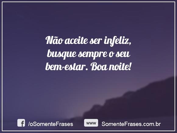 Frases De Boa Noite Somente Frases