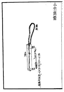 Ming Chinese Bamboo Rocket Tube