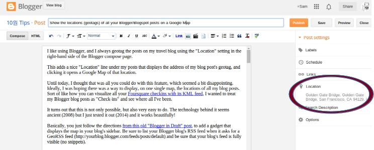 Templates 10 Tips Displaying Your Blogger Posts 0027 Location Tag On Mobile