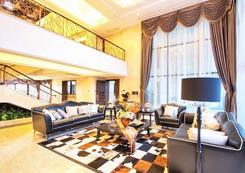 窗簾|寬闊高挑大廳 展現大器
