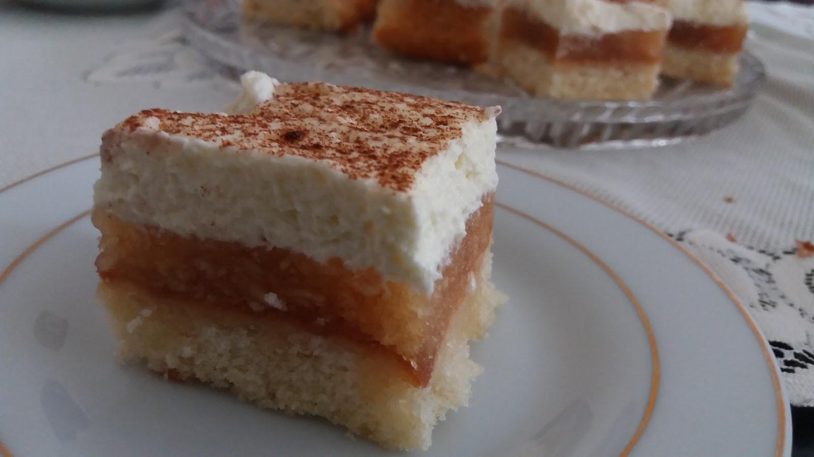 Ciasto Biszkoptowe Z Jablkami I Bita Smietana Kulinaria Zblogowani