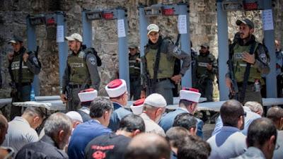 Turquia condena fechamento da Esplanada das Mesquitas de Jerusalém