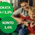 Konto Oszczędnościowe 3,4% oraz Lokata mobilna 4% i lokata na nowe środki na 3,3% w Getin Bank (+ 50 zł na start i nawet 500 zł w programie poleceń)