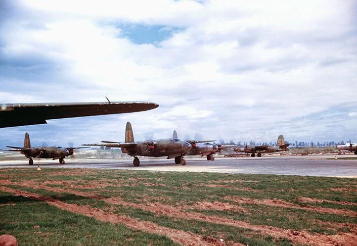 B-26 Marauder 69 che partecipò al bombardamento di Lesegno