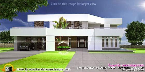 Futuristic style villa