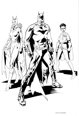 Cartoons Coloring Pages: Batman and Robin Coloring Pages