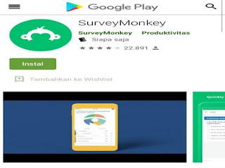SurveyMonkey aplikasi membuat survei online