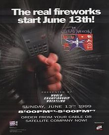 WCW Great American Bash 1999 - Event poster