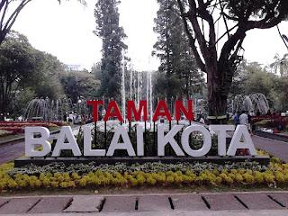 Taman Balai Kota Bandung Jabar