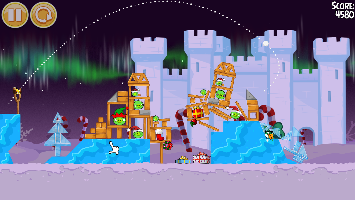 Angry Birds Official 2012 Angry Birds Seasons Winter