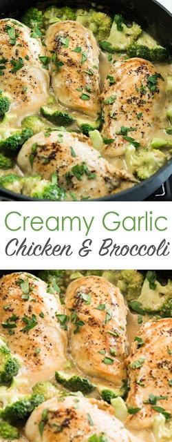 Crеаmу Garlic Chісkеn wіth Broccoli