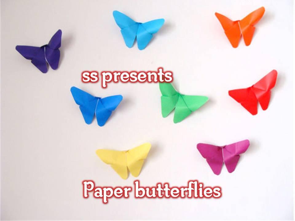 Paper Folding Butterflies