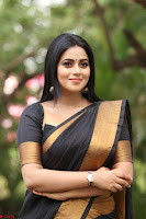 Poorna in Cute Backless Choli Saree Stunning Beauty at Avantika Movie platinum Disc Function ~  Exclusive 123.JPG