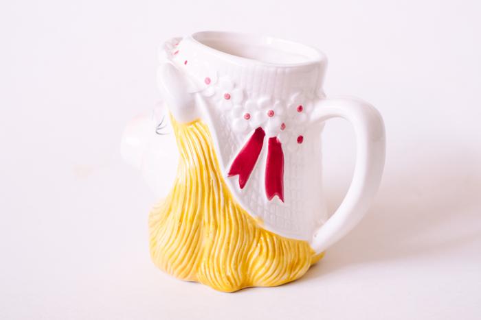 vintage miss piggy mug