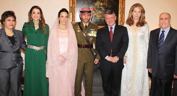 صورة عقد قران جديد بعد طلاق حمزة بن الحسين والاميرة بسمة