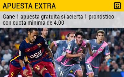 bwin bono 50 euros Rayo Vallecano vs Barcelona liga 3 marzo