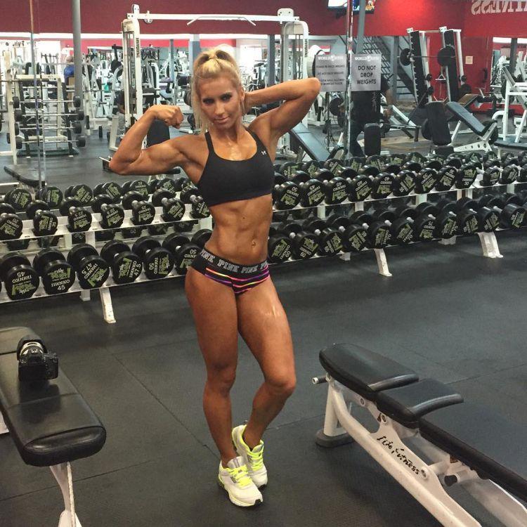 fitness Bikini Competitor Rachel Shimon