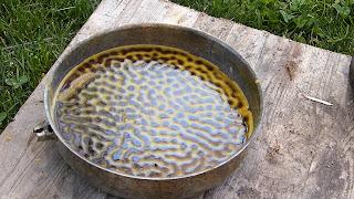 fondre cire d'abeille recyclage
