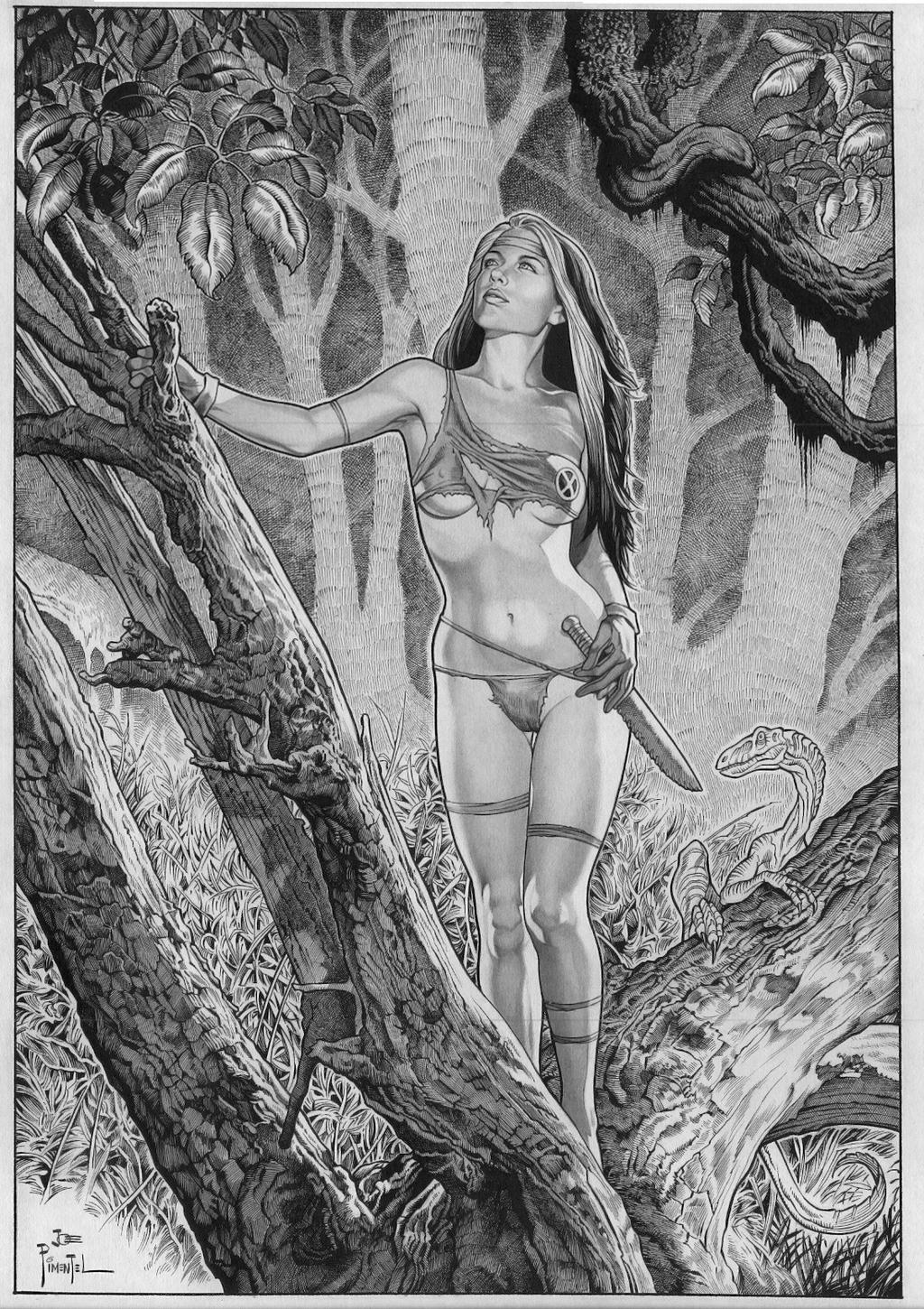 Rouge, Savage Land Lonely Girl