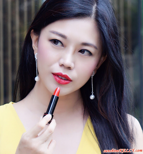 Shiseido Rouge Rouge Lipstick, Shiseido Malaysia, Shiseido, Lipstick Review, The HUATtest Lips