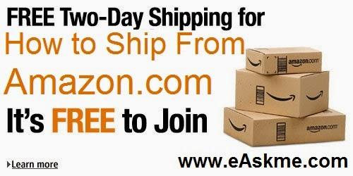 How to Ship From Amazon.com : eAskme.com