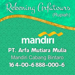 Rekening Arfa Mandiri