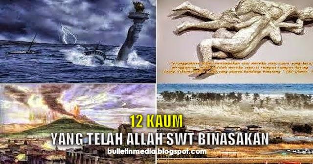 Peringatan..!! '12 Kaum Yang Allah SWT Binasakan' Yang Diceritakan Dalam Al-Quran Kongsikan Kepada Semua