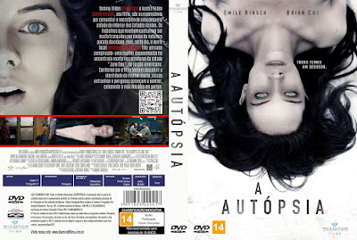 Filme A Autópsia (The Autopsy Of Jane Doe) DVD Capa