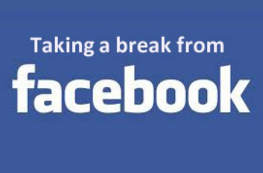 What does take a break on facebook mean