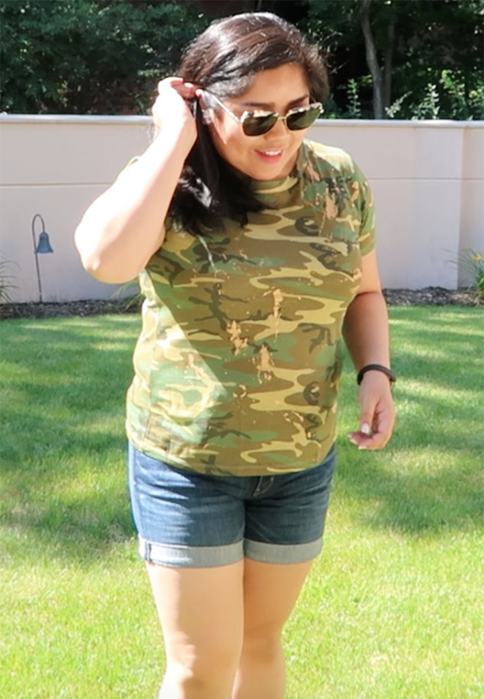 j crew, j crew outfit, camo, camo tee, j crew camo, j crew haul, sonix, sonix sunglasses, denim shorts, treasure and bond, treasure and bond denim, treasure and bond shorts, autumn, fall, fall fashion, autumn fashion, summer outfit