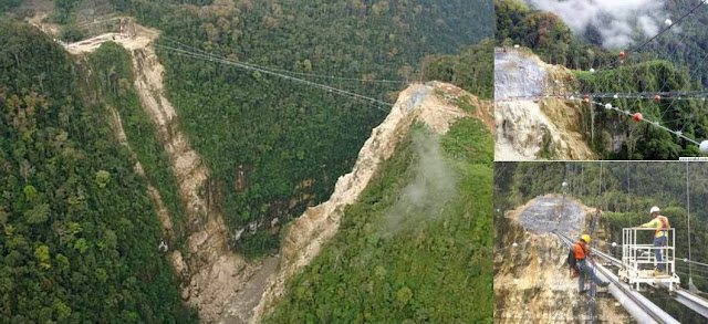 Hegigio Gorge Pipeline Bridge