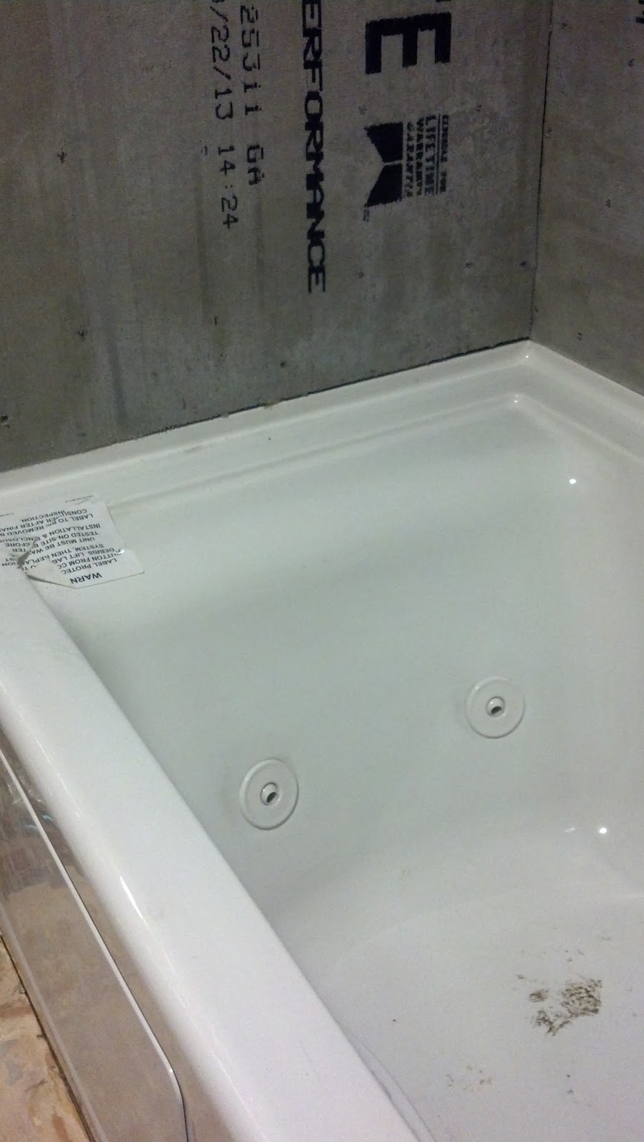 7 days to a new bathroom | Postcards from the Ridge