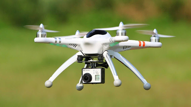 Drones Used To Smuggle