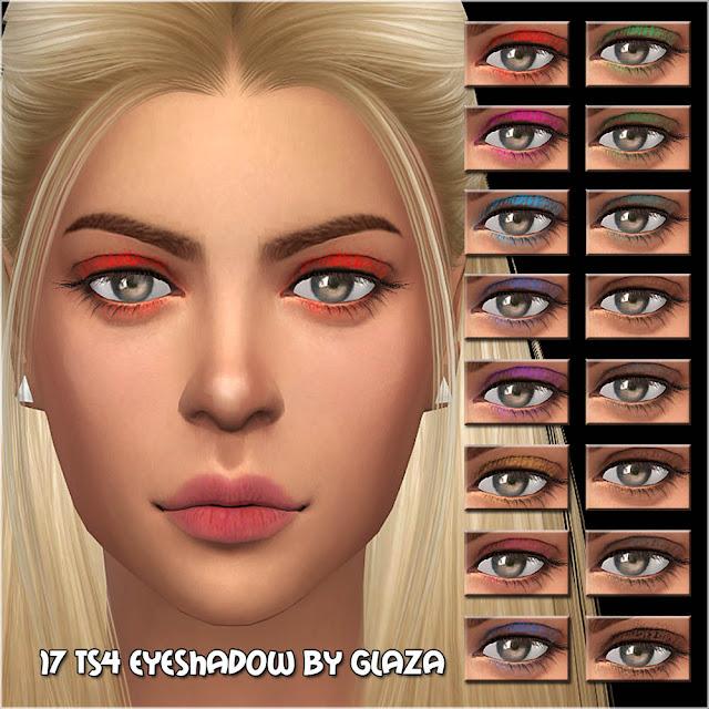 17 ts4 eyeshadow by glaza