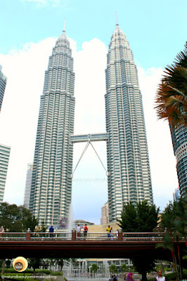 Kuala Lumpur best tourist attraction is The petronas Twin Towers, at Suriya Mall, KLCC, Malaysia
