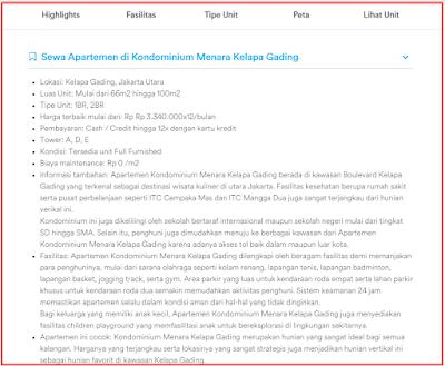 Jendela360 Memberikan Informasi lengkap Tentang Apartemen di Jakarta