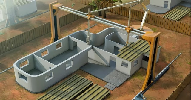 3D Printing: 2,500 Ft² House PRINTED in 20 Hours