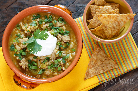 Paleo Slow Cooker Turkey and White Bean Chili