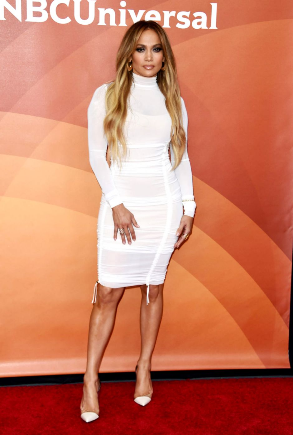 2c76dcaccb3 Jennifer Lopez in a Dress Weve Seen a Million Times at the