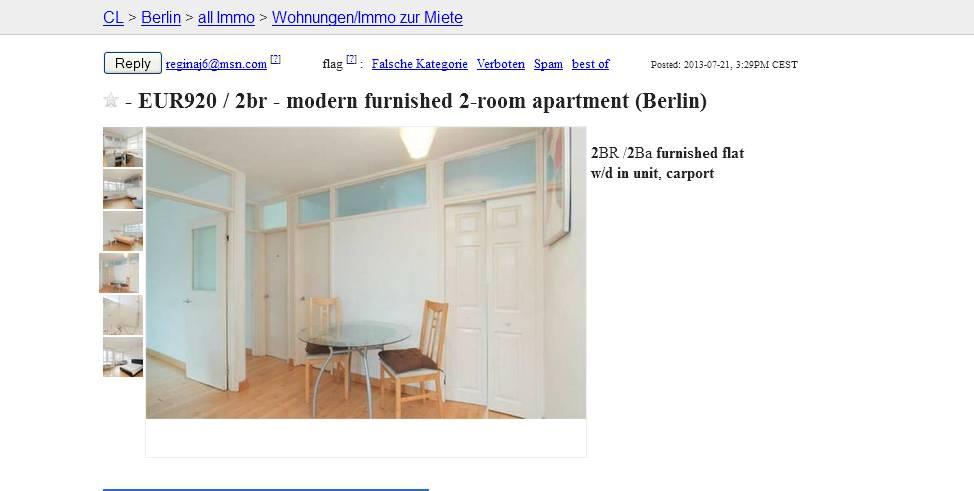 reginaj6 vorkassebetrug fraud scam. Black Bedroom Furniture Sets. Home Design Ideas