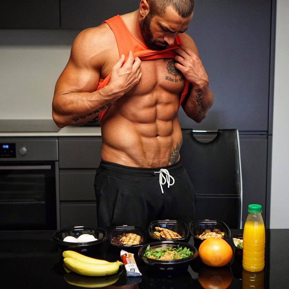 Lazar Angelov Diet Meal Prep 2017